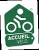 logo marque accueil vélo