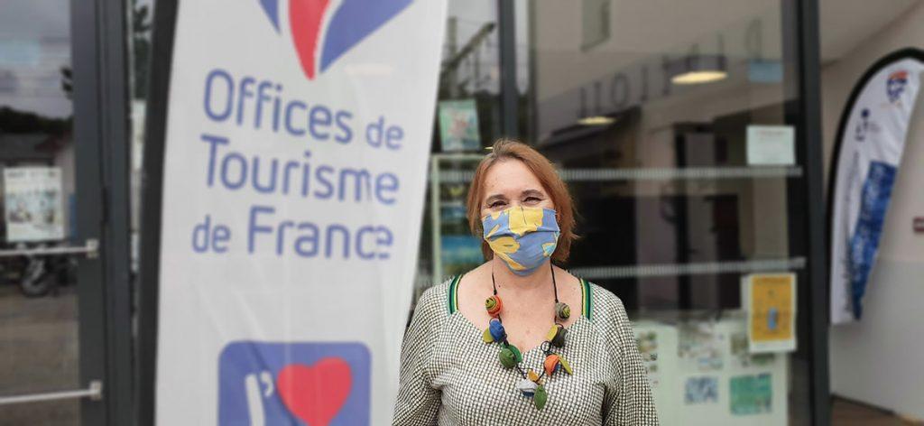 Francine Boursault, the president of the association
