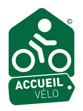 Logo du label accueil vélo
