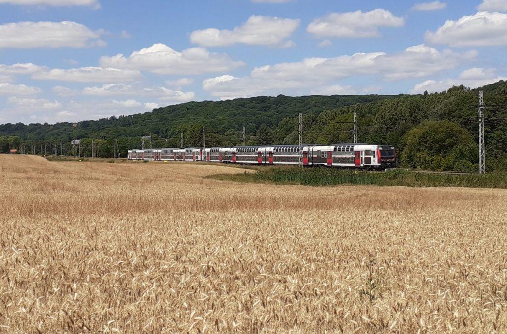 RER C à travers champs