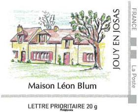 Timbre maison Léon Blum