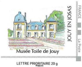 Timbre musée de la toile de Jouy