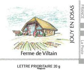Timbre ferme de Viltain