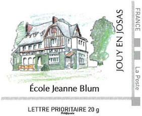Timbre école Jeanne Blum