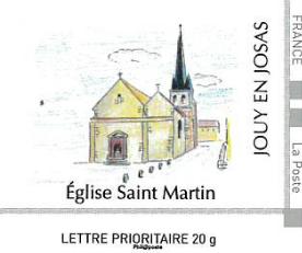 Timbre église Saint-Martin