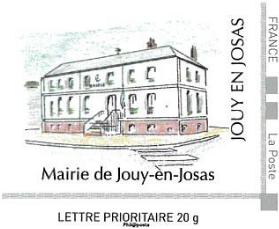 Timbre mairie de Jouy-en-Josas